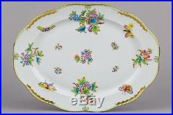 Herend Queen Victoria XLarge Oval Service Platter #101/VBO