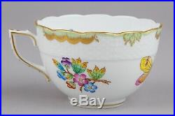 Herend Queen Victoria XLarge Tea Cup with Saucer #701/VBO I