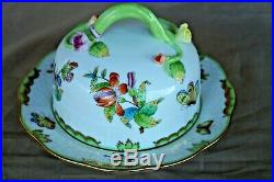 Herend Queen Victoria butter / cheese bowl