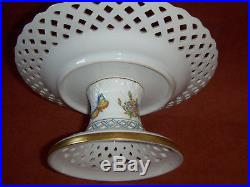 Herend Queen Victoria footed and openwork dish. #9416VBO