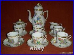 Herend Queen Victoria koffee / cappuccino set für 6