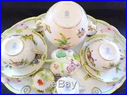 Herend Queen Victoria tete a tete, tea set for two persons, BRAND NEW BOXED, VBO