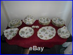 Herend Queen victoria plate set full dinner set with 26 piece porcelain VBO