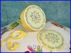 Large Herend Queen Victoria Large Soup Tureen Lemon Handle 22 VBO Green Border