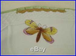 QUEEN VICTORIA (VBO) by HEREND 15 1/4 Serving Platter 1102