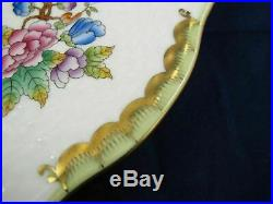 QUEEN VICTORIA by HEREND Porcelain 11 1/4 Charger / Service Plate VBO MVBO 527