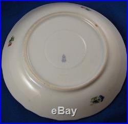 Rare Antique Herend Porcelain Lidded Cup & Saucer Porzellan Queen Victoria Tasse
