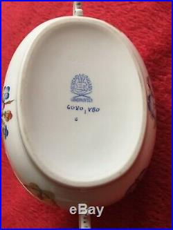 Rare Herend Queen Victoria Candy/Sweet/Nut/Trinket Oval Dish With Lid Perfect