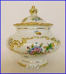 Rare Herend Queen Victoria trinket bon bon candy box