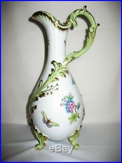 STUNNING Herend Large Queen Victoria Vase Jug