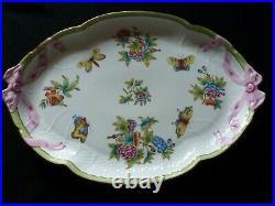 Wonderful Herend Queen Victoria tray